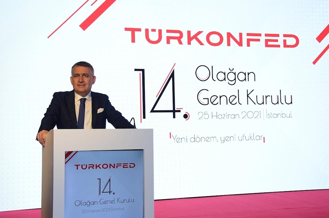 25 Haziran 2021 - TÜRKONFED Yönetim Kurulu Başkanı Orhan Turan TÜRKONFED 14. Olağan Genel Kurul Konuşma Metni