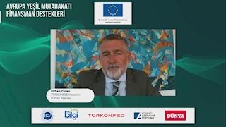 3 Ağustos 2021 - TÜRKONFED Yönetim Kurulu Başkanı Orhan Turan Avrupa Yeşil Mutabakatı Finansman Destekleri Webinarı Konuşma Metni