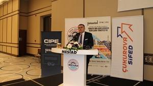 10 Mayıs 2019 / TÜRKONFED Başkanı Orhan Turan Kent-Bölge Mersin Toplantısı Konuşma Metni