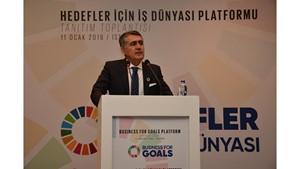 11 Ocak 2019 / TÜRKONFED Başkanı Orhan Turan Hedefler İçin İş Dünyası Platformu Konuşma Metni