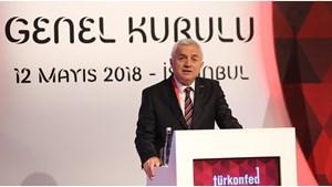 12 Mayıs 2018 / TÜRKONFED Başkan Vekili Şükrü Ünlütürk - Genel Kurul Konuşma Metni