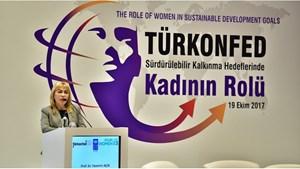 19 Ekim 2017 / TÜRKONFED Başkan Yardımcısı & İDK Başkanı Yasemin Açık'ın Kadın Zirvesi Konuşma Metni