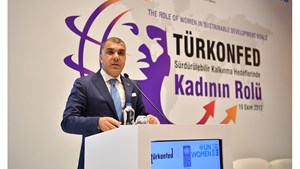 19 Ekim 2017 / TÜRKONFED Yönetim Kurulu Başkanı Tarkan Kadooğlu'nun Kadın Zirvesi Konuşma Metni