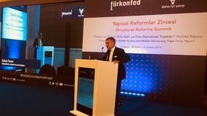 24 Ekim 2019 - TÜRKONFED Başkanı Orhan Turan'ın Yapısal Reformlar Zirvesi Konuşma Metni