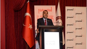 """27 Nisan 2017 / TÜRKONFED Başkanı Kadooğlu: """"Tek Kanatla Uçamayız. Kadın Yoksa, Kalkınma da Olmaz!"""""""