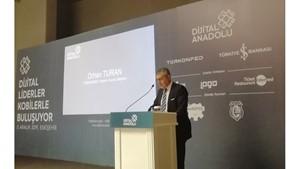 5 Aralık 2019 - TÜRKONFED Başkanı Orhan Turan'ın Dijital Anadolu Eskişehir Konuşma Metni