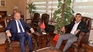 Başkan Kadooğlu'dan Mersin Valisi Çakacak'a ziyaret