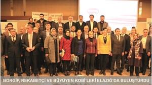Büyüyen ve Rekabetçi Elazığlı KOBİ'ler için BORGİP Zamanı!