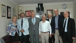 Büyükçekmece Belediye Başkanı Hasan Akgün, İSİFED Heyetini Makamında Kabul Etti