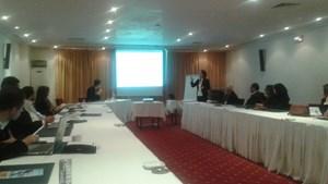 Ekonomik Araştırmalar Bölüm Sorumlusu Zühal Özbay Daş, Tunus 14. MEEA Konferansı'nda sunum yaptı