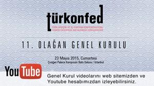 Genel Kurul Videoları Web Sitemiz ve Youtube'da
