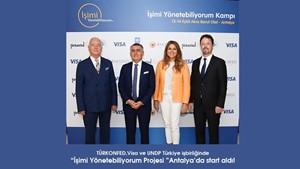 """""""İşimi Yönetebiliyorum Projesi"""" Antalya'da start aldı - 13 Eylül 2019"""