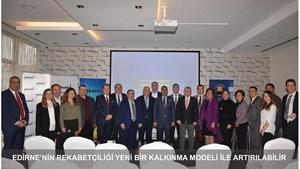 """Kadooğlu: """"Edirne'nin Rekabetçiliği Yeni Bir Kalkınma Modeli ile Artırılabilir"""""""