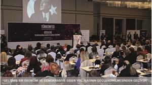 """Kadooğlu: """"Gelişmiş Bir Ekonomi ve Demokrasiye Giden Yol, Kadının Güçlendirilmesinden Geçiyor"""""""