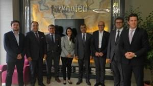 Marka Konseyi Başkanı Borça TÜRKONFED'i ziyaret etti