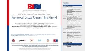 Sivil Toplum Diyaloğu - Kurumsal Sosyal Sorumluluk Zirvesi, 1-2 Eylül İstanbul