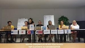 Sosyal Girişimcilik ve KSS Yolculuğu  YEP! Slovakya ile Devam Ediyor