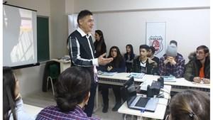 Eskişehirli Liseli Gençler Girişimci Kültürü ile Tanıştı