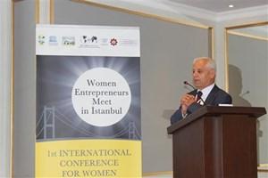 Süleyman Onatça,  BPW 1.Uluslararası Kadın Girişimiciler İşbirliği Konferansı'nda Konuştu