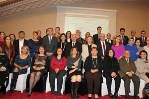 Süleyman Onatça,  İş Dünyasında Kadın Raporu Diyarbakır Çalıştayı'nda konuştu