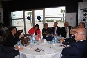 Süleyman Onatça,  İş Dünyasında Kadın Raporu Samsun Çalıştayı'nda konuştu
