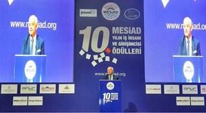 Süleyman Onatça, MESİAD Ödül Töreni'nde konuştu.