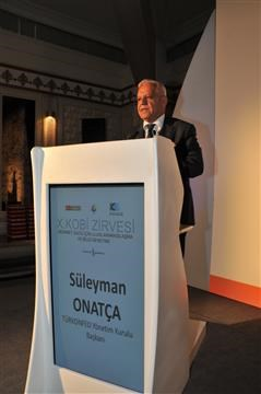 Süleyman Onatça TOSYÖV 10. KOBİ Zirvesi'nde Konuştu