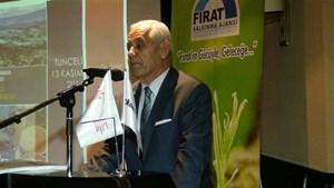 Onatça, Yerel Dinamikler: Tunceli Modeli ve Tunceli'de Yatırım Fırsatları Toplantısı'nda Konuştu
