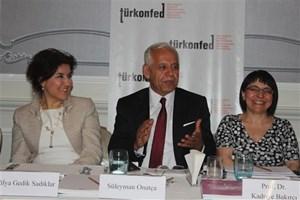 Süleyman Onatça, TÜRKONFED İş Dünyası Kadın Rapor Lansmanı'nda Konuştu