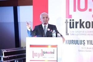 Süleyman Onatça TÜRKONFED 10. Kuruluş Yılı Zirvesi Gala Yemeği'nde Konuştu