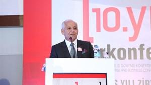 Süleyman Onatça TÜRKONFED 10. Kuruluş Yılı Zirvesinde Konuştu
