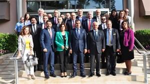 Tarkan Kadooğlu ve Cansen Başaran-Symes ÇUKUROVASİFED'in konuğu oldu