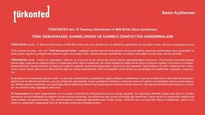 Türk Demokrasisi, Darbelerden ve Darbeci Zihniyetten Arındırılmalıdır
