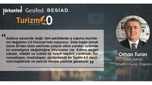 Türk Turizminde Dönüşüm 4.0 Zirvesi Bodrum'da düzenlendi