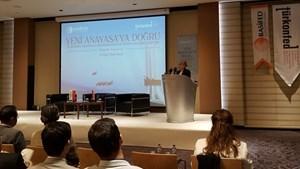 """TÜRKONFED Başkan Yardımcısı Prof. Dr. Açık: """"Türkiye'nin Yeni ve Sivil Bir Anayasa'ya İhtiyacı Var"""""""