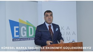 """23 Mart 2017 / TÜRKONFED Başkanı Kadooğlu: """"Küresel Marka Taklidiyle Ekonomiyi Güçlendiremeyiz"""""""