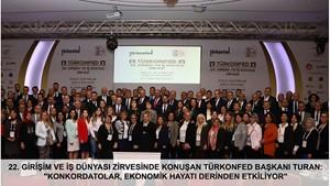 Türk İş Dünyası TÜRKONFED Hatay Zirvesi'nde Buluştu!