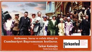 TÜRKONFED Cumhuriyet Bayramı Kutlaması
