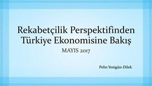 TÜRKONFED Danışmanı Pelin Yenigün Dilek'in 39. Girişim ve İş Dünyası Konseyi Sunumu - 12 Mayıs 2017