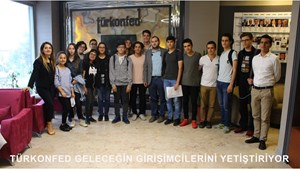 TÜRKONFED Geleceğin Girişimcilerini Yetiştiriyor-STEM ile Yeni Ufuklar Projesi
