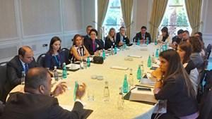 TÜRKONFED Genel Sekreterler Toplantısı yapıldı.