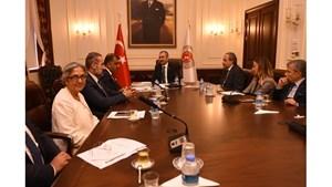 TÜRKONFED Heyeti Ankara Temaslarında Politikalarını Anlattı