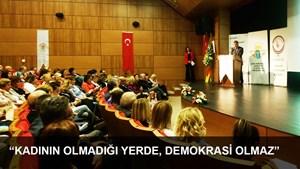 """TÜRKONFED: """"Kadının Olmadığı Yerde, Demokrasi Olmaz"""""""