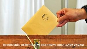 TÜRKONFED: Özgürlükçü Demokrasi ve Ekonomiye Odaklanma Zamanı