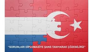 """TÜRKONFED: """"Sorunları, Diplomasiye Şans Tanıyarak Çözebiliriz"""""""