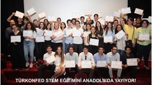 TÜRKONFED STEM Eğitimini Anadolu'ya Yayıyor!
