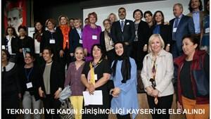 TÜRKONFED, Teknoloji ve Kadın Girişimciliğini Ele Aldı