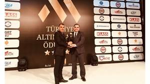 TÜRKONFED, Türkiye'nin Altın Markası Seçildi