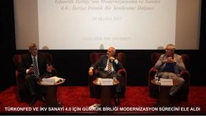 TÜRKONFED ve İKV, Gümrük Birliği Sohbetleri Düzenlendi