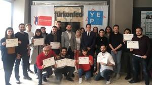 TÜRKONFED'den 'YEP!' Kapsamında Gençlere Sosyal Girişimcilik Sertifikası Verildi - 5 Nisan 2019